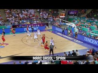 Top 5 Plays w_ Porzingis, Gasol and more - Day 3 - FIBA EuroBasket 2017