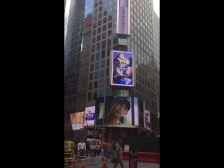 140917 [VIDEO] Comeback countdown video video on the Times Square