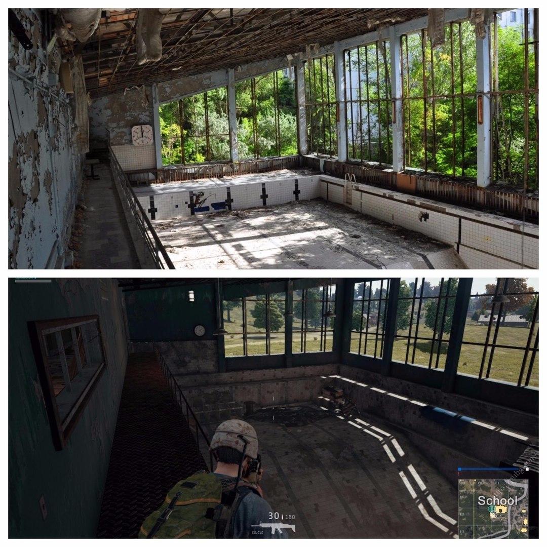 Отсылки к Чернобылю в PUBG