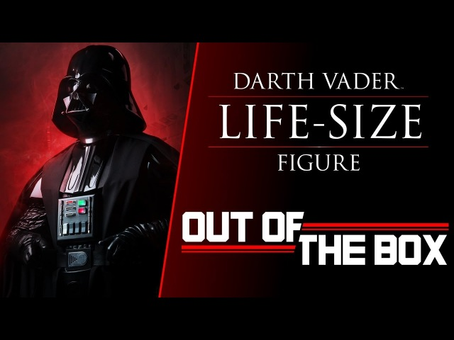 Out of the Box Darth Vader Life Size Figure