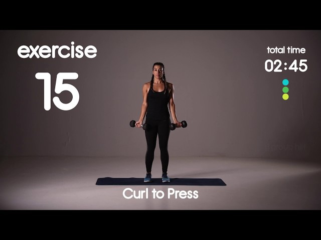 Bicep Tricep Burner with Weights - HIIT Workout