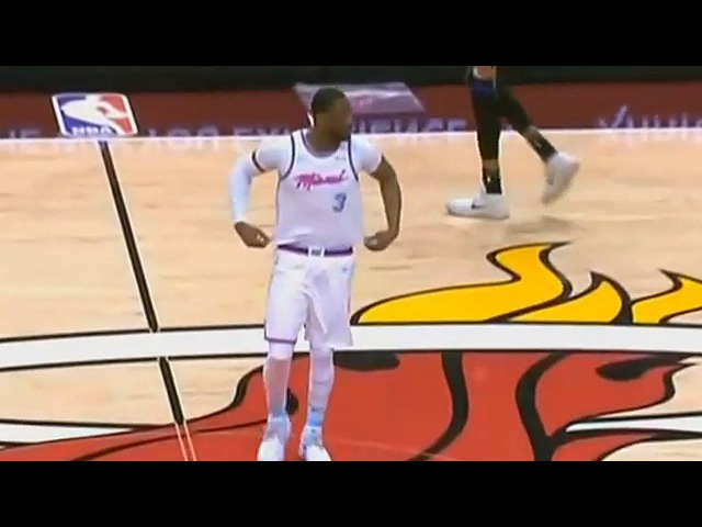 Dwyane Wade Returns to Miami Heat for the First Time as Heat Player and Gets Standing Ovation