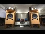 Final setup KRS Special Birdseye Maple Speakers - JBL 1500AL, 375 &amp AcapellaATR TW-1 Ion Tweeter 20