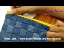 DIY Idea Creative Recycling Easy way to turn your Old Jean into a Stylish Trendy Purse