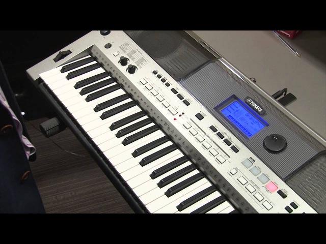 Пример аранжировки музыкального произведения на инструменте Yamaha PSR-E443