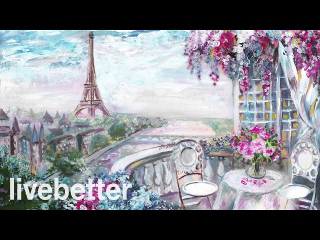 Cafe París Romántico Música Francesa Instrumental Romántica Relajante Tradicional con Acordeon 2017