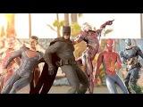 MARVEL vs. DC EPIC DANCE BATTLES! ( THE AVENGERS vs. JUSTICE LEAGUE )