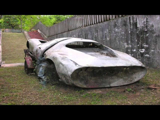 Abandoned Racecars