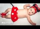 Шапка Микки маус для девочки. Детский костюм Микки Мауса.