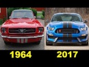 Evolution Of The Ford Mustang | (1964 - 2017)