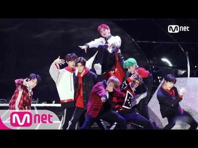 2017 MAMA in Hong Kong Hitchhiker NCT 127 11 The 7th Sense Reverse Cherry Bomb