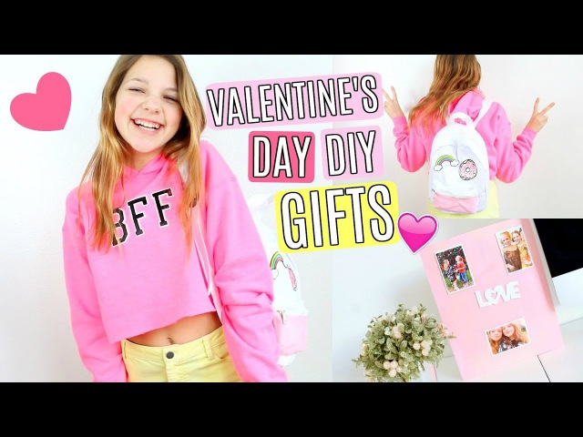 DIY Valentine's Day BFF Gifts