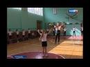 Гандболистка Владлена Бобровникова провела урок физкультуры для ростовских шк