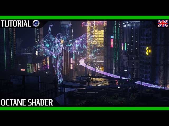Advanced Octane Shaders Tutorial - C4D | Hologram Material By Yvan Feusi