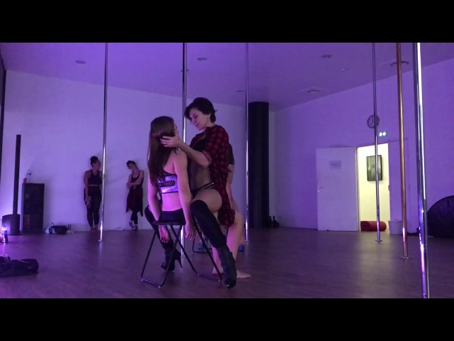 Sexy work - lap dance class - Doris Arnold - august 2017