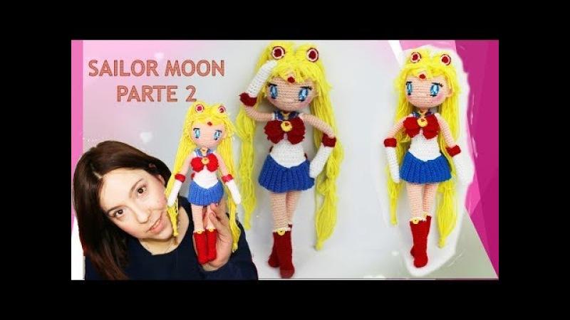 Amigurumi muñeca Sailor Moon (parte 2/5)