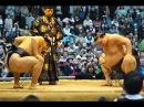 Yokozuna Hakuho vs Yokozuna Kakuryu - Outdoor Sumo