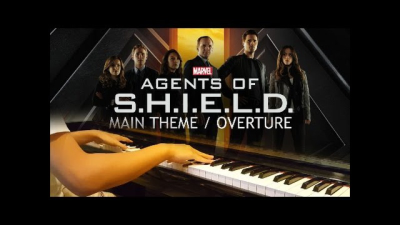 Agents of S H I E L D Main Theme Overture piano cover FREE MUSIC SHEETS