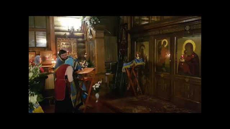 21.11.17г. Всенощное бдение в канун престольного праздника иконы БМ Скоропослушница