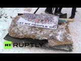 11 декабря 2013. Киев. Ukraine: Protesters build new barricades from street trash