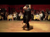 Blanquita, a tango legend 93 years old dance milonga in Sue