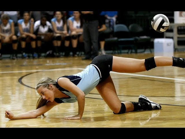 Best Volleyball Actions | Women's Volleyball Digs | Women's Volleyball Saves