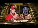 Raw Rey Mysterio vs John Cena WWE Championship Match 2011