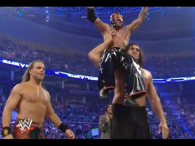 Rey Mysterio, Great Khali, Shaw Michaels vs. Kane, John Bradshaw, The Miz Survivor Series