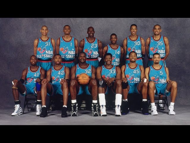 1996 NBA All Star Game Best Plays full game highlights МАТЧ ВСЕХ ЗВЁЗД 96
