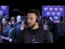 Stephne Curry Interview All Star Practice February 17 2018 2018 NBA All Star Weekend