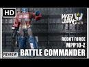 Wei Jiang MPP10-Z BATTLE COMMANDER KO Transformers Masterpiece MP10 Damaged Optimus Prime
