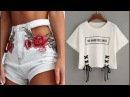 DIY Convierte tu Ropa Vieja a Nueva - DIY How to Make Your Old Clothes to New - Easy 2017!