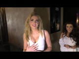 Saxon Sharbino talks about ghosts and Poltergeist movie curse at Amanda Steele's Sweet 16 Party at C