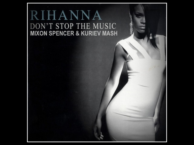 Rihanna Autoerotique-Don't Stop The Music(Mixon Spencer Kuriev Mash)