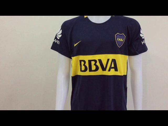 2017 18 Boca junior home soccer jerseys 5 GaGo unboxing reviews tectopjersey com