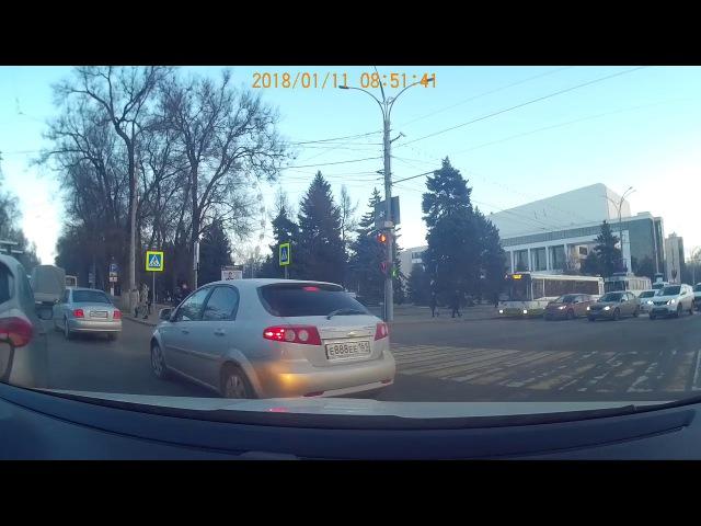 ДТП, Ростов-на-Дону 01.11.2018, 08:46 Trim Mazda6 A600СЕ61