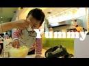 Es Teler 77 mall ambassador kuningan Baby ali icel Minum Es Teler 77