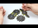 DIY 3 Style Spinners Fidget Chain How to Make