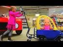 Полина с Куклой Беби Бон делает покупки в Супермаркете Baby doing shopping with Baby Doll