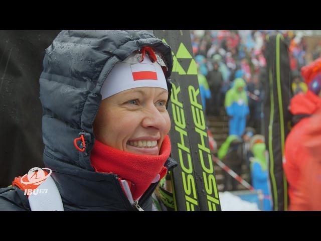 Интервью Вероники Новаковска после спринта (04.01.2018)