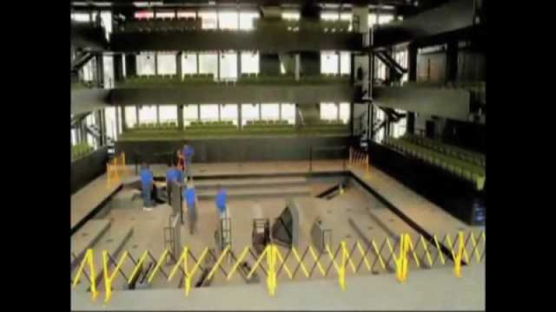 Wyly Theatre Transformation Time Lapse