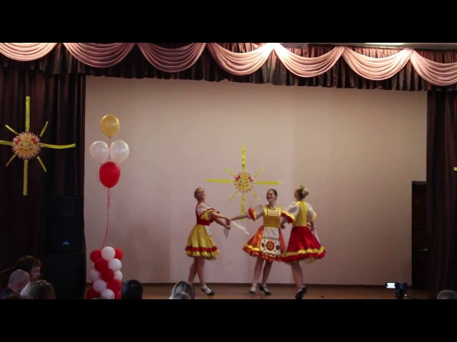 Девичья плясовая русский танец ансамбль танца Родничок г Курган