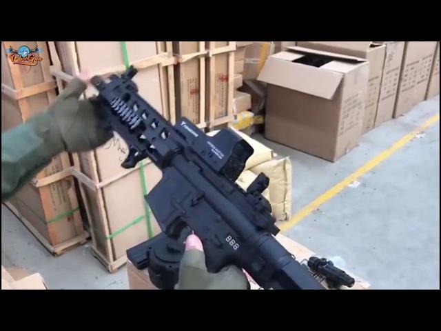 Orbeegun Самое крутое оружие стреляет пулями orbeez