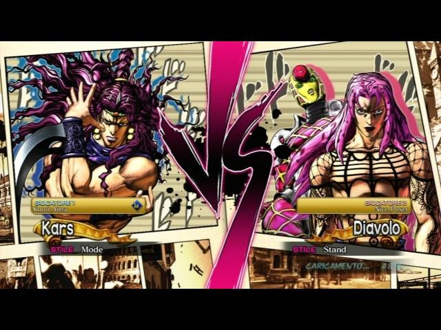 [JoJo ASB][EU] Kuroi_Aima (Kars) VS Nice_Poser (Diavolo)