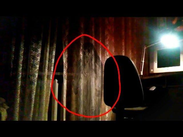 Призрак, снятый на камеру в моем доме
