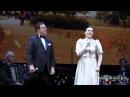 Елена Ваенга на юбилейном концерте Иосифа Кобзона