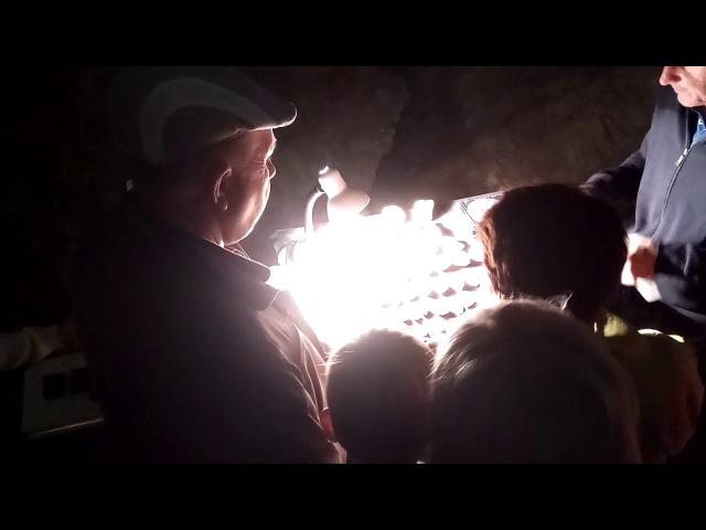 Сочи Абхазия Новоафонская пещера