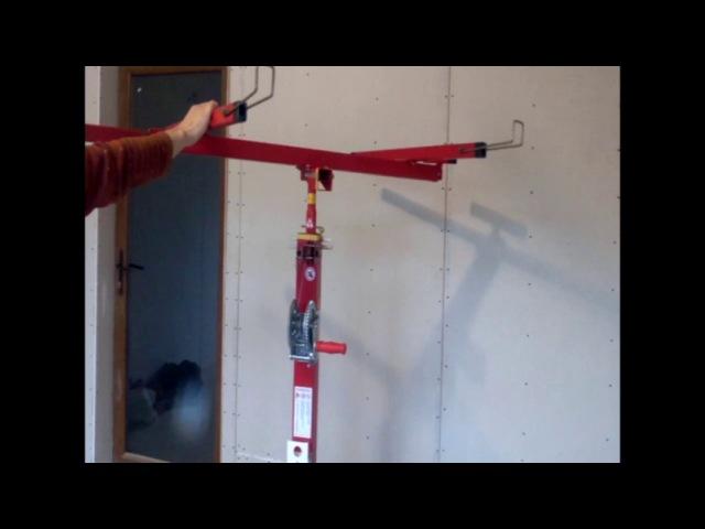 подъёмник для гипсокартона своими руками