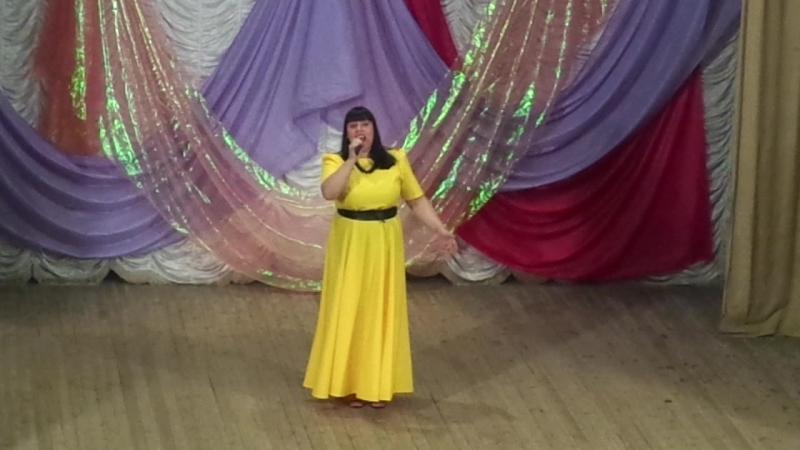 День города Белозерска 2015 г. Я желаю вам счастья и добра - поёт Швецова Татьяна