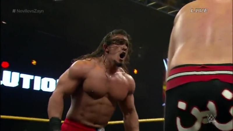 NXT TakeOver - R Evolution (2014) - Sami Zayn vs Adrian Neville - NXT Championship